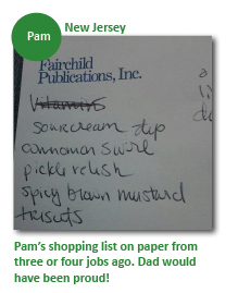 Pam.Shopping.List
