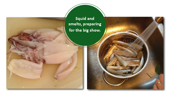 Squid.Smelts